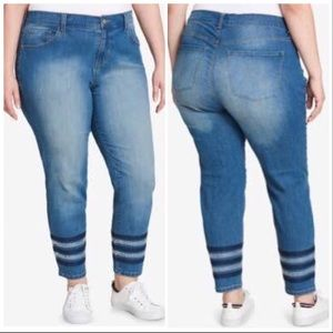 Tommy Hilfiger embellished Jeans size 22W